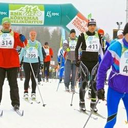 RMK Kõrvemaa Suusamaraton - Aare Tinn (314), Kerttu Aaring (399), Vello Luts (411)
