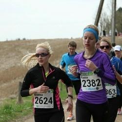 86. Suurjooks ümber Viljandi järve - Kaisa Kaup (2382), Bianca Mehine (2624)