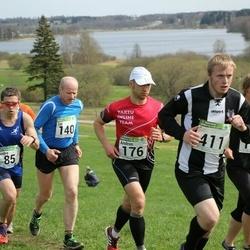 86. Suurjooks ümber Viljandi järve - Andre Abner (85), Tiit Kibuspuu (140), Andrus Undrest (176), Argo Ploom (411)