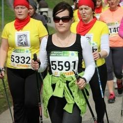 86. Suurjooks ümber Viljandi järve - Jane Ojala (5332), Anneli Silm (5591)
