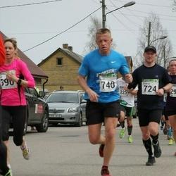 86. Suurjooks ümber Viljandi järve - Jaanus Ruut (724), Ando Hermsalu (740)