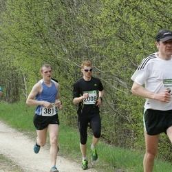 86. Suurjooks ümber Viljandi järve - Hanno Traks (347), Karl-Gustav Nagel (381), Agris Krievans (2008)