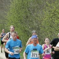 86. Suurjooks ümber Viljandi järve - Kerda Timmusk (86), Eik Eller (371), Neeme Ponder (401), Ando Hermsalu (740)