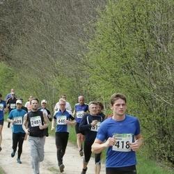 86. Suurjooks ümber Viljandi järve - Rainer Karmann (418), Tarmo Holsting (446), Arno Anton (512), Kunnar Kukk (689), Hanno Parksepp (2481)