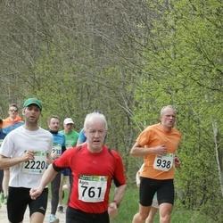 86. Suurjooks ümber Viljandi järve - Agris Knope (761), Gert Klaaser (938), Indrek Ilves (2220)