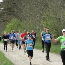 86. Suurjooks ümber Viljandi järve - Alvar Uus (1060), Tiina Säälik (1218), Markus Michelis (2736)