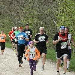 86. Suurjooks ümber Viljandi järve - Tiit Mauer (1343), Mia Meet (2112), Argon Raudsepp (2714)