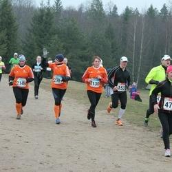 RMK Kõrvemaa Kevadjooks - Ingrid Lindenberg (475), Kairit Kuuskaru (2130), Age Tuisk (2145)