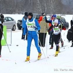 38. Tartu Maraton - Sanita Vitola (998), Ago Saluveer (1183)