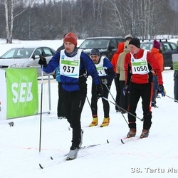 38. Tartu Maraton - Priit Kingo (937), Ander Kuusk (1050)