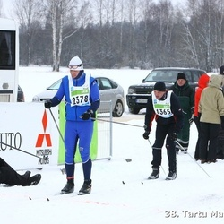 38. Tartu Maraton - Mati Kütt (1365), Arno Bachaus (2378)