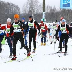 38. Tartu Maraton - Bruno David (1569), Erko Reigo (2711), Margus Marrandi (3545)
