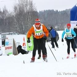 38. Tartu Maraton - Urmas Reidla (923), Annika Vaher (1148)