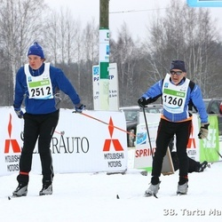38. Tartu Maraton - Johan Laas (1260), Arti Männi (2512)