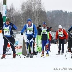 38. Tartu Maraton - Kalmar Kurs (1238), Allen Talviste (1336), Arno Ojamets (2897), Tõnu Elismäe (3200)