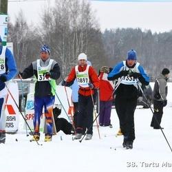 38. Tartu Maraton - Kalmar Kurs (1238), Aivar Uutar (1688), Arno Ojamets (2897)