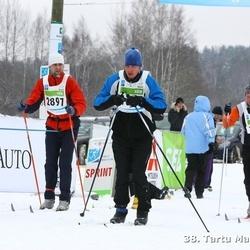 38. Tartu Maraton - Aivar Uutar (1688), Arno Ojamets (2897), Marek Salumaa (3791)
