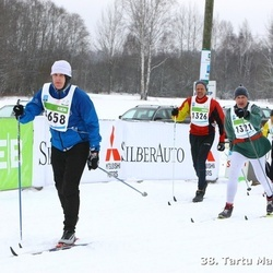 38. Tartu Maraton - Arno Anton (1321), Kaljo Julge (1326)