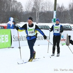 38. Tartu Maraton - Arno Ehaste (1466), Rene Pajus (2447)