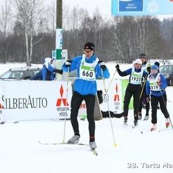 38. Tartu Maraton - Aarne Tiit (660), Ülle Viinapuu (1923)