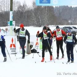 38. Tartu Maraton - Mihkel Tammaru (3470), Aare Külv (3715), Hannu Liekola (4143)