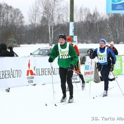38. Tartu Maraton - Andras Kaasik (3576), Raiko Uri (3671)