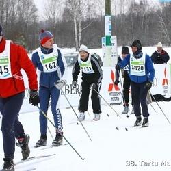 38. Tartu Maraton - Veiko Jansen (1624), Agu Vilu (1845), Arno Pärna (3132), Tarmo Sepp (3820)