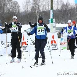 38. Tartu Maraton - Veiko Jansen (1624), Arno Pärna (3132), Tarmo Sepp (3820)