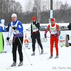 38. Tartu Maraton - Peeter Kutman (1611), Martti Sivonen (1743), Alvar Tõruke (3860)