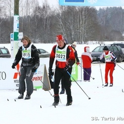 38. Tartu Maraton - Andre Krull (3022), Martins Gaismins (3915)