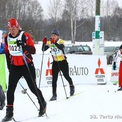 38. Tartu Maraton - Mikk Sampka (2632), Andre Krull (3022), Martins Gaismins (3915)