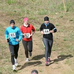 2. Jõgeva Rahvajooks - Annika Loomus (43), Jaanika Loomus (44), Taavi Nierer (85)