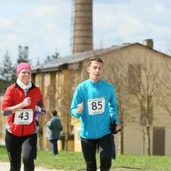 2. Jõgeva Rahvajooks - Annika Loomus (43), Taavi Nierer (85)