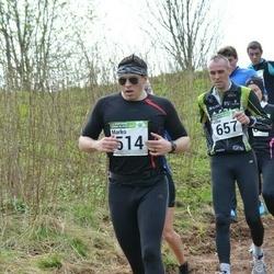 86. Suurjooks ümber Viljandi järve - Marko Laigna (514), Üllar Vill (657)