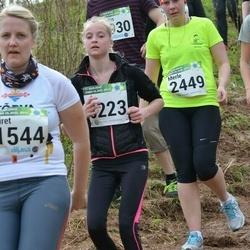 86. Suurjooks ümber Viljandi järve - Merle Väli (2449), Berit Allikoja (3223)