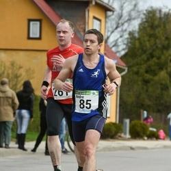 86. Suurjooks ümber Viljandi järve - Andre Abner (85), Vahur Mäe (261)