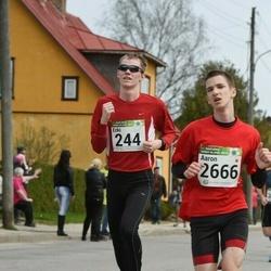 86. Suurjooks ümber Viljandi järve - Jakob Jääger (2444), Aaron Kais (2666)