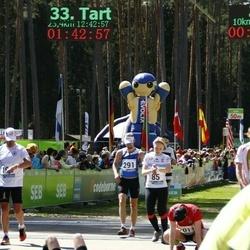 33. Tartu Jooksumaraton - Annika Vaher (85), Kristofer Soop (291)
