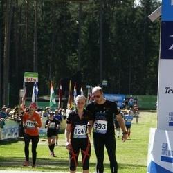 33. Tartu Jooksumaraton - Ander Raud (393), Viiu Juurik (1241)