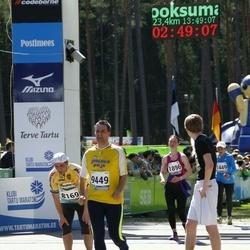 33. Tartu Jooksumaraton - Aare Einsoo (8169), Kaupo Kreela (9449)