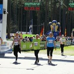 33. Tartu Jooksumaraton - Maichl Suur (8774), Reet Uibo (8873), Kadi Anajev (8874), Brigitta Mõttus (8875)