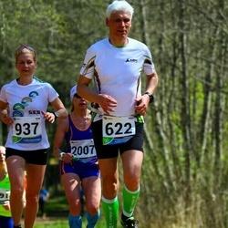 33. Tartu Jooksumaraton - Kaupo Koplus (622), Annika Vaiksaar (937)