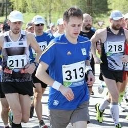 33. Tartu Jooksumaraton - Ago Kärema (211), Gery Einberg (218), Aleksei Panarin (313)