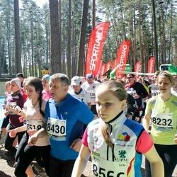 33. Tartu Jooksumaraton - Einar Viira (8430), Greete Pärnalaas (8518), Annika Ole (9035), Federico Bellentani (9232)