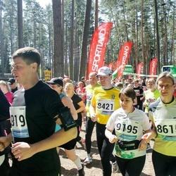 33. Tartu Jooksumaraton - Margit Turb (8615), Agnes Siniorg (9195)