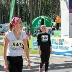 33. Tartu Jooksumaraton - Merilin Matson (8103), Anneliis Täär (8403)