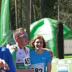 33. Tartu Jooksumaraton - Ando Hermsalu (481), Inge Joonas (682)