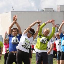 40. jooks ümber Ülemiste järve - Hille Valdmaa (301), Aimar Liiver (610), Jalmar Mäe (684)