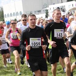 40. jooks ümber Ülemiste järve - Aare Treier (143), Kairit Kaasik (318), Raul Volke (1059)