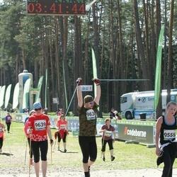 33. Tartu Jooksumaraton - Ines Edur (9555), Hanno Kroon (9638), Berit Kroon (9639)